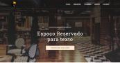 Site para Barzinho e Restaurante